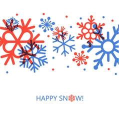 cute new year card vector image vector image