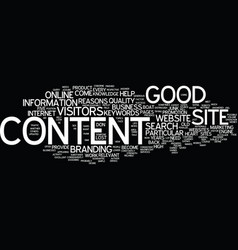 Five reasons why good content is the heart of vector
