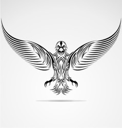 Eagle bird vector