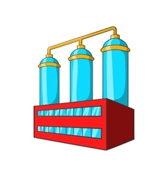 Wort preparation icon cartoon style vector
