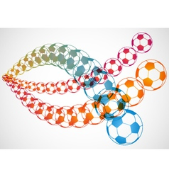 Soccer ball overlays vector