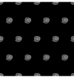 Abstract spiral seamless pattern vector