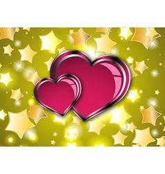 Gift card love vector