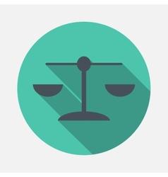 Libra icon vector image