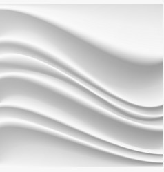 Wavy silk abstract background realistic vector