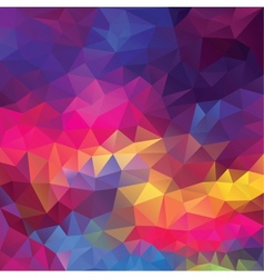 Abstract geometrical triangles background vector