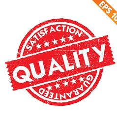 Stamp sticker quality collection - - eps10 vector