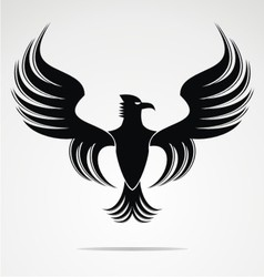 Eagle bird art vector