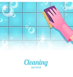 Cleaning background pink vector