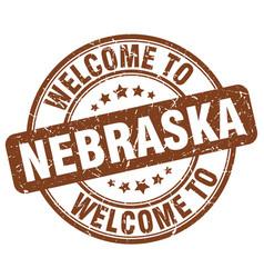 Welcome to nebraska vector