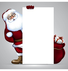 Santa claus design vector