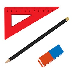 Stationery tools vector