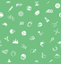 Seamless sport background texture vector
