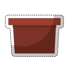 speech podium isolated icon vector image