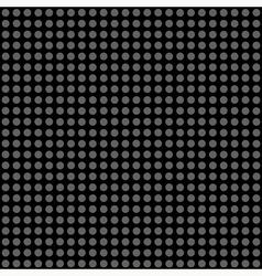 Seamless pattern gray polka dots vector