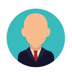 Business people profile vector