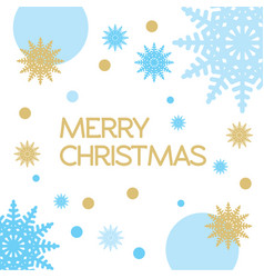christmas frame on on a white background vector image
