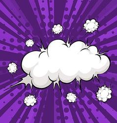 Cloud bubble vector