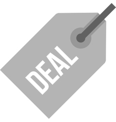 Deal Tag vector image vector image