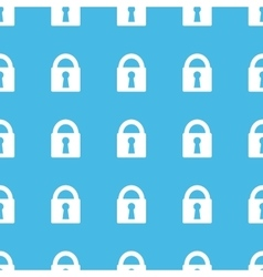 Locked straight pattern vector