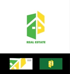 Real estate house home vector
