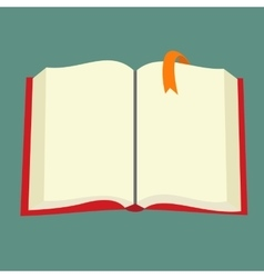 Best book flat icon vector image