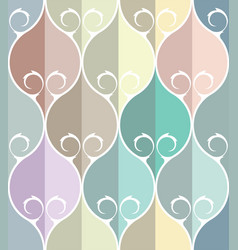 Classical ornate seamless pattern background vector