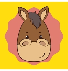 Pet and animals funny cartoon vector