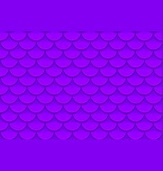 seamless pattern of colorful violet purple fish vector image vector image