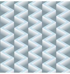 3d zig zag seamless pattern background vector