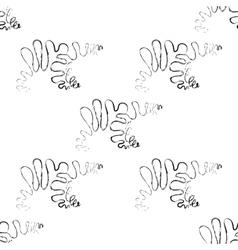 polar bear seamless pattern vector image