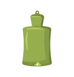 Green rubber warmer icon cartoon style vector