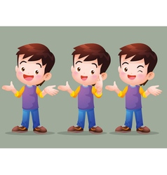 Boy have Answer vector image