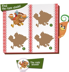 find the right shade vector image vector image