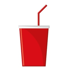 Isolated soda drink design vector