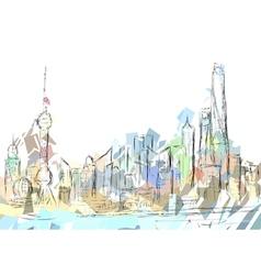 Shanghai vector