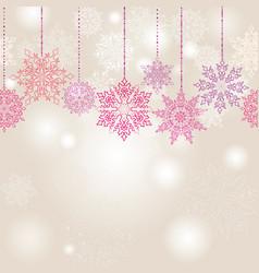 snow blur seamless pattern christmas winter vector image