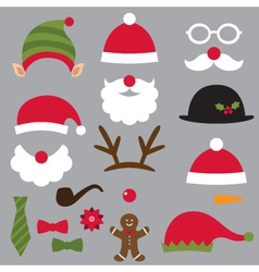 Christmas design elements set vector