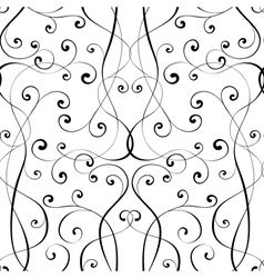 calligraphy penmanship seamless background vector image vector image