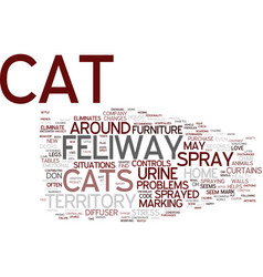 That cat just sprayed text background word cloud vector