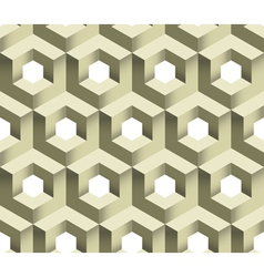 3d cube logo icon seamless pattern background vector