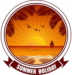 Summer banners2 vector