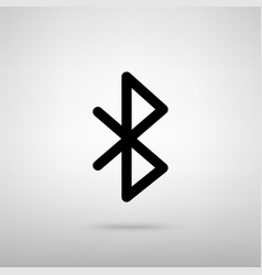 Bluetooth sign vector