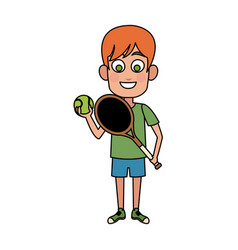 happy young boy icon image vector image vector image