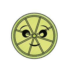 Kawaii limon vector