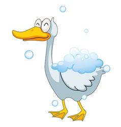 a duck vector image