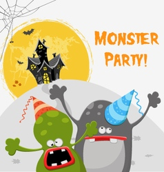 Monster party vector