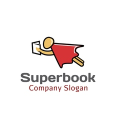 Super book design vector