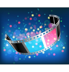 film 3D vector image