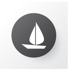 Sail icon symbol premium quality isolated boat vector